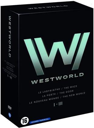 Westworld - Saisons 1-3 (9 DVDs)