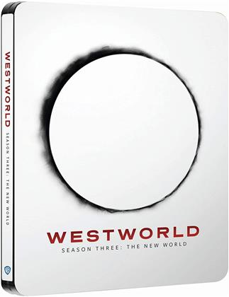Westworld - Saison 3 (Limited Edition, Steelbook, 3 4K Ultra HDs + 3 Blu-rays)