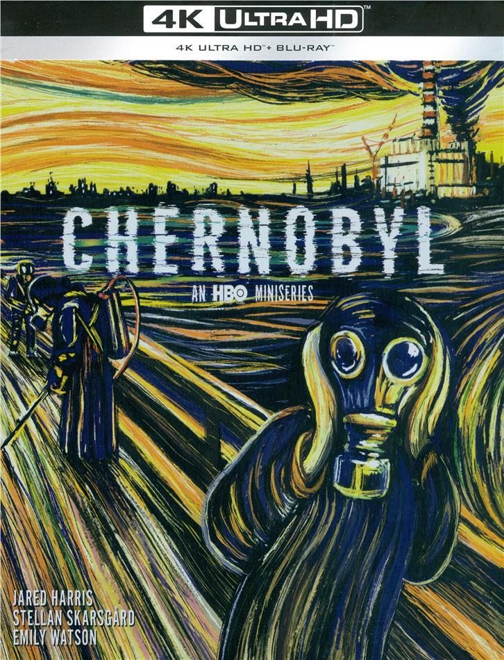 Chernobyl - HBO Mini-série (2019) (Limited Edition, Steelbook, 2 4K Ultra HDs + 2 Blu-rays)