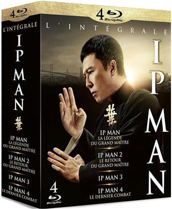 Ip Man 1-4 - L'intégrale (4 Blu-ray)