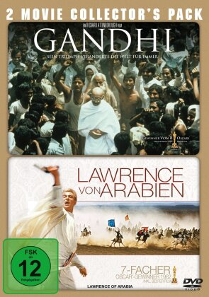 Gandhi / Lawrence von Arabien (Collector's Edition, 2 DVD)