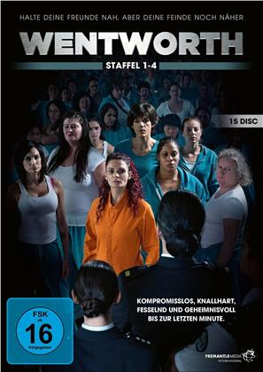 Wentworth - Staffel 1-4 (15 DVDs)