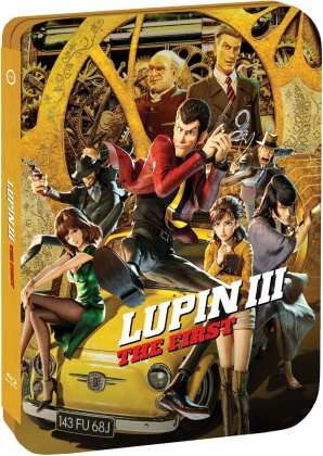 Lupin the 3rd: The First (2019) (Limited Edition, Steelbook)