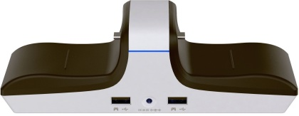 Raptor-Gaming CS200 USB Dual Charging Station - white