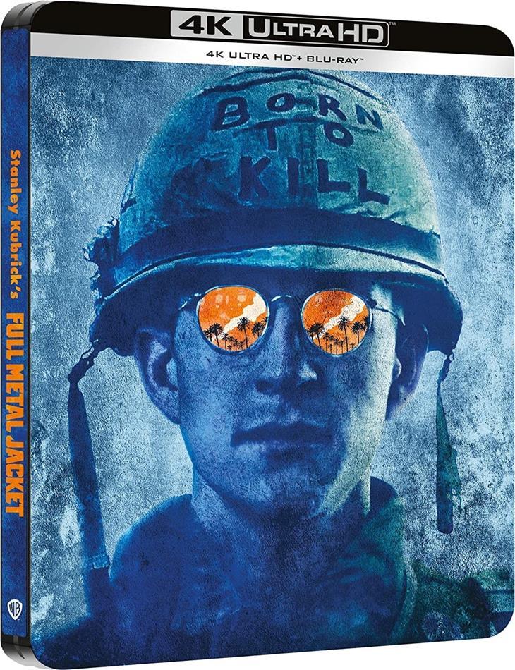 Full Metal Jacket (1987) (Steelbook, 4K Ultra HD + Blu-ray)