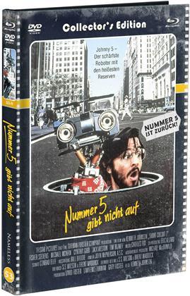 Nummer 5 gibt nicht auf (1988) (Cover D, Limited Edition, Mediabook, Blu-ray + DVD)