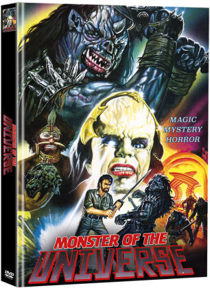 Monster of the Universe (1986) (Super Spooky Stories, Cover A, Limited Edition, Mediabook, 2 DVDs)