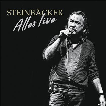 Gert Steinbäcker - Alles Live (CD + DVD)