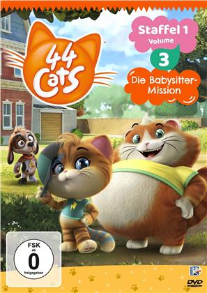 44 Cats - Staffel 1 - Vol. 3: Die Babysitter-Mission