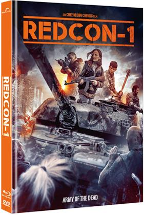 Redcon-1 - Army of the Dead (2018) (Cover B, Limited Collector's Edition, Mediabook, Blu-ray + DVD)