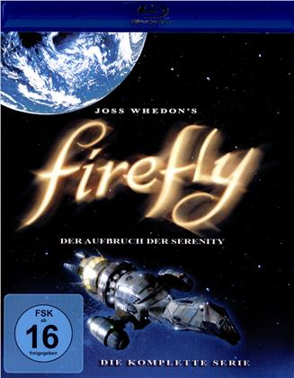 Firefly - Der Aufbruch der Serenity - Die komplette Serie (3 Blu-rays)