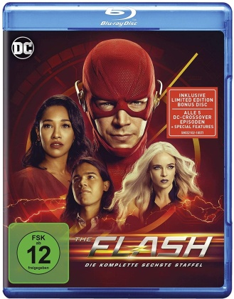 The Flash - Staffel 6 (4 Blu-rays)
