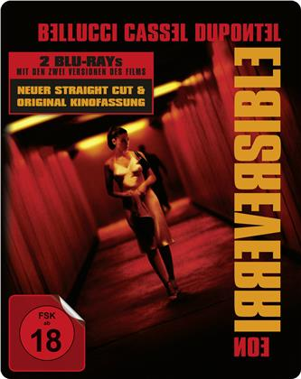 Irreversible (2002) (Straight Cut, Kinoversion, Limited Edition, Steelbook, 2 Blu-rays)