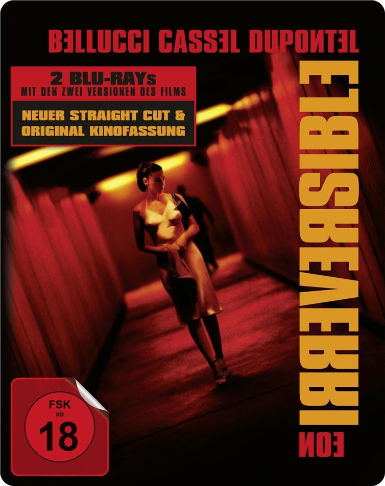 Irreversible (2002) (Straight Cut, Kinoversion, Limited Edition, Steelbook, 2 Blu-rays)