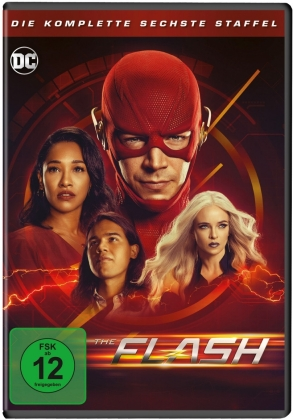 The Flash - Staffel 6 (4 DVDs)