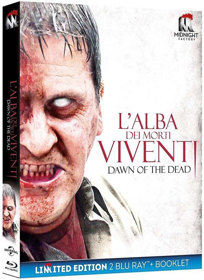 L'alba dei morti viventi (2004) (Midnight Factory, Edizione Limitata, 2 Blu-ray)