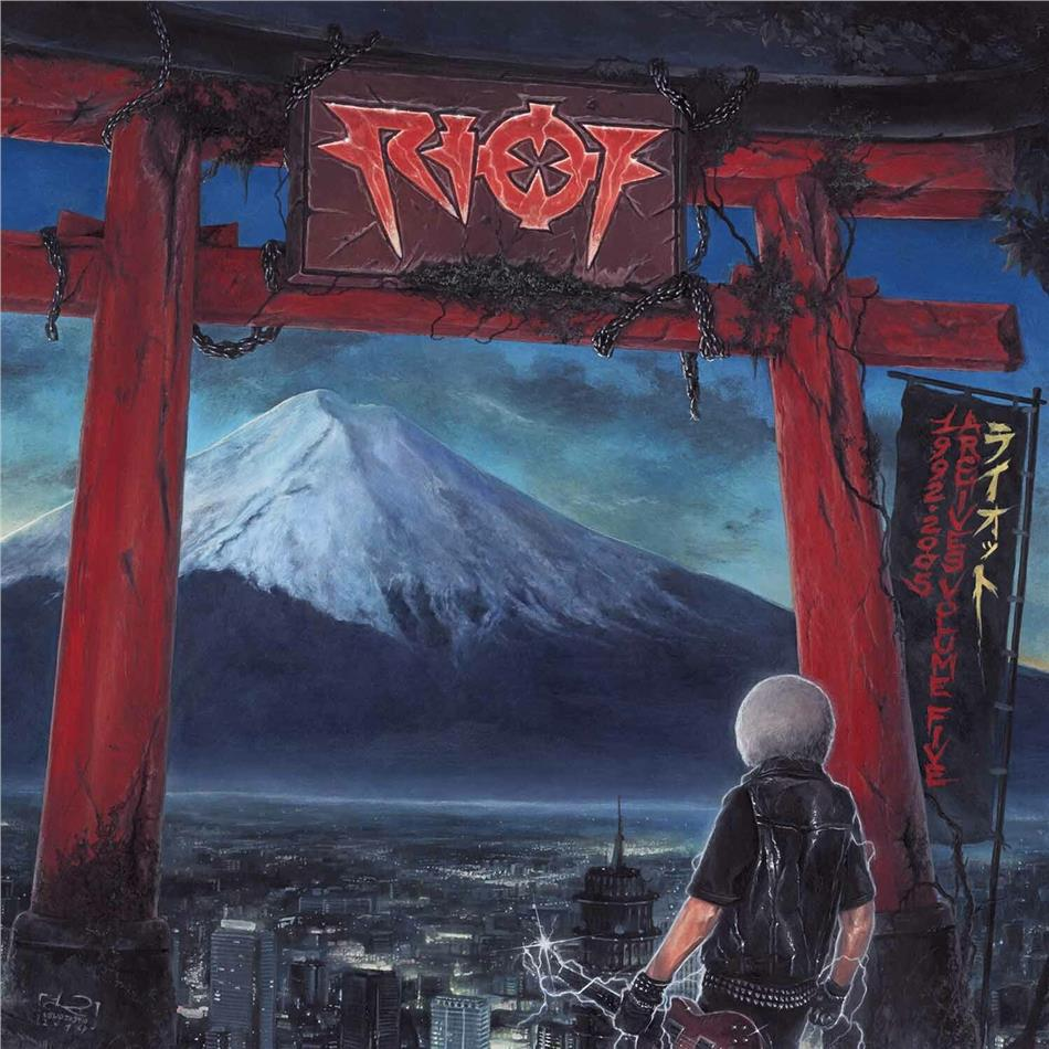 Riot - Archives Volume 5: 1992-2005 (Limited Edition, Red Vinyl, 2 LPs + DVD)