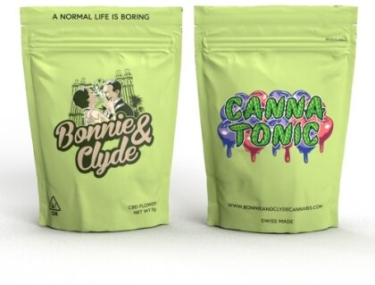 Bonnie & Clyde Cannatonic / Blueberry (2g) - (16% CBD 0.5% THC)