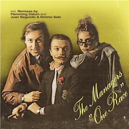 The Managers - One Race (2020 Reissue, LP)