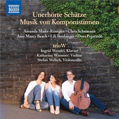 Amanda Maier-Röntgen (1853-1894), Clara Wieck-Schumann (1819-1896), Amy Marcy Cheney Beach (1867-1944), Lili Boulanger (1893-1918), Dora Pejacevic (1885-1923), … - Unerhörte Schätze - Musik von Komponistinnen