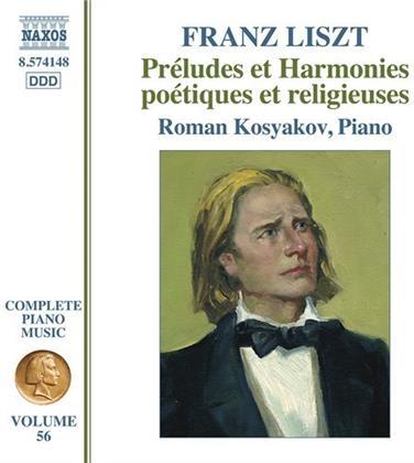 Franz Liszt (1811-1886) & Roman Kosyakov - Préludes et Harmonies poétiques et religieuses