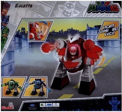 PJ Masks Turbo Roboter Eulette