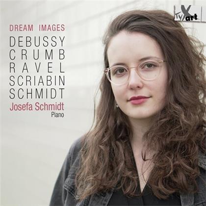Claude Debussy (1862-1918), George Crumb (*1929), Maurice Ravel (1875-1937), Alexander Scriabin (1872-1915), Josefa Schmidt, … - Dream Images