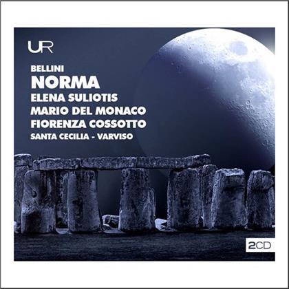 Vincenzo Bellini (1801-1835), Silvio Varviso, Elena Suliotis, Mario del Monaco, Fiorenza Cossotto, … - Norma - 1967
