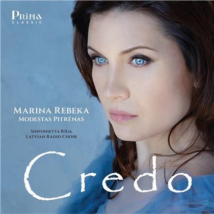 Marina Rebeka & Sinfonietta Riga - Credo