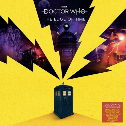 Doctor Who - Edge Of Time - OST (140 Gramm, Colored, LP)