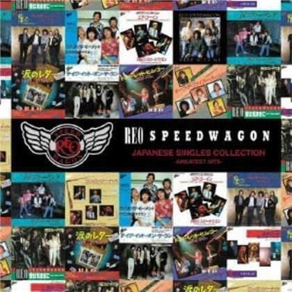 REO Speedwagon - Japanese Singles Collection (Japan Edition, CD + DVD)