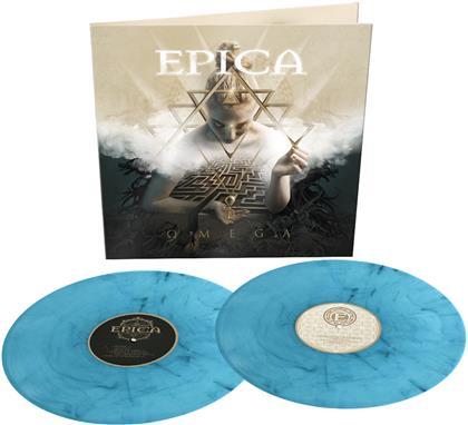 Epica - Omega (Turquoise/Black Marbled Vinyl, 2 LPs)