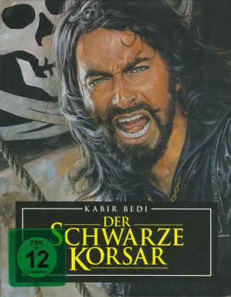 Der schwarze Korsar (1976) (Mediabook, Blu-ray + 2 DVD)