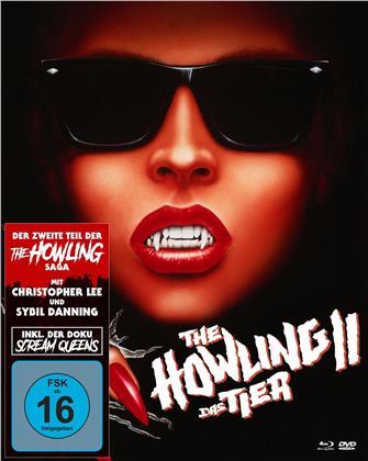 The Howling 2 - Das Tier 2 (1985) (Mediabook, 2 Blu-rays + DVD)