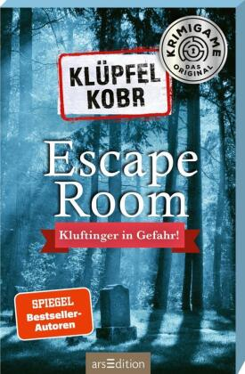 Klüpfel Kobr - Kluftinger in Gefahr. Ein Escape-Room-Spiel mit Kommissar Kluftinger