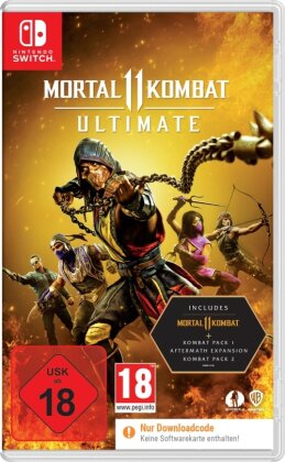 Mortal Kombat 11 Ultimate - (Code in a Box)