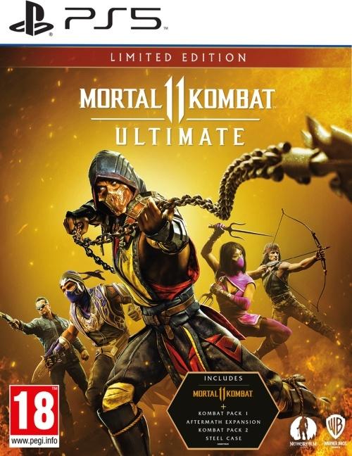 Mortal Kombat 11 Ultimate - (Steelbook Edition)