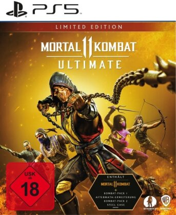 Mortal Kombat 11 Ultimate - (Steelbook Edition) (German Edition)
