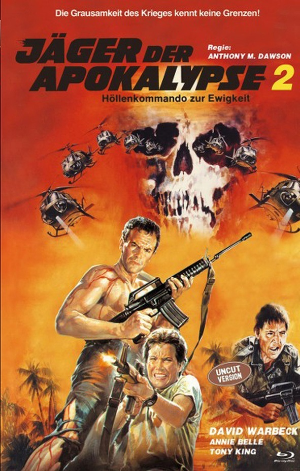 Jäger der Apokalypse 2 (1982) (Cover B, Grosse Hartbox, Limited Edition, Uncut)