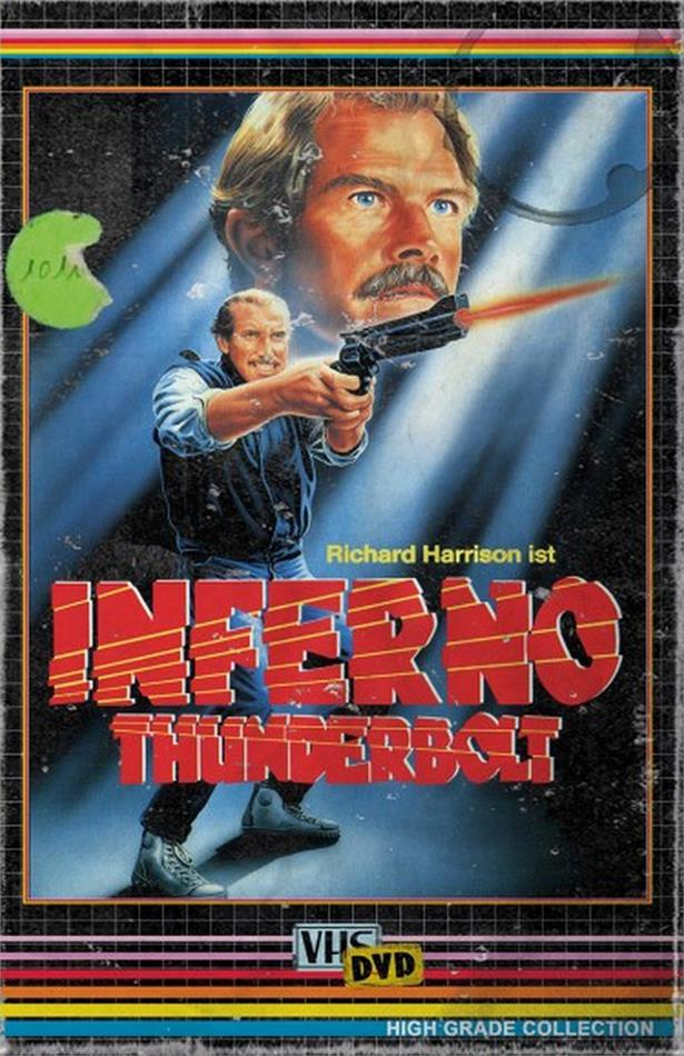 Inferno Thunderbolt (1984) (Grosse Hartbox, High Grade Collection, Edizione Limitata, Uncut)