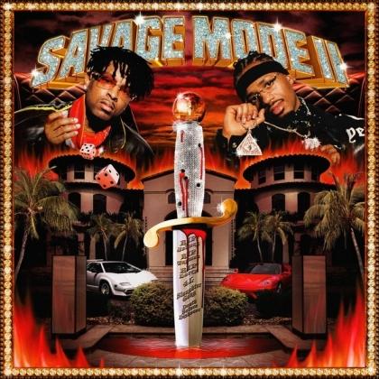 21 Savage & Metro Boomin - Savage Mode II (140 Gramm, Red Vinyl, LP)