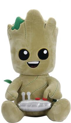 Neca - Phunny Marvel Groot Withbutton Hugme 16In Plush
