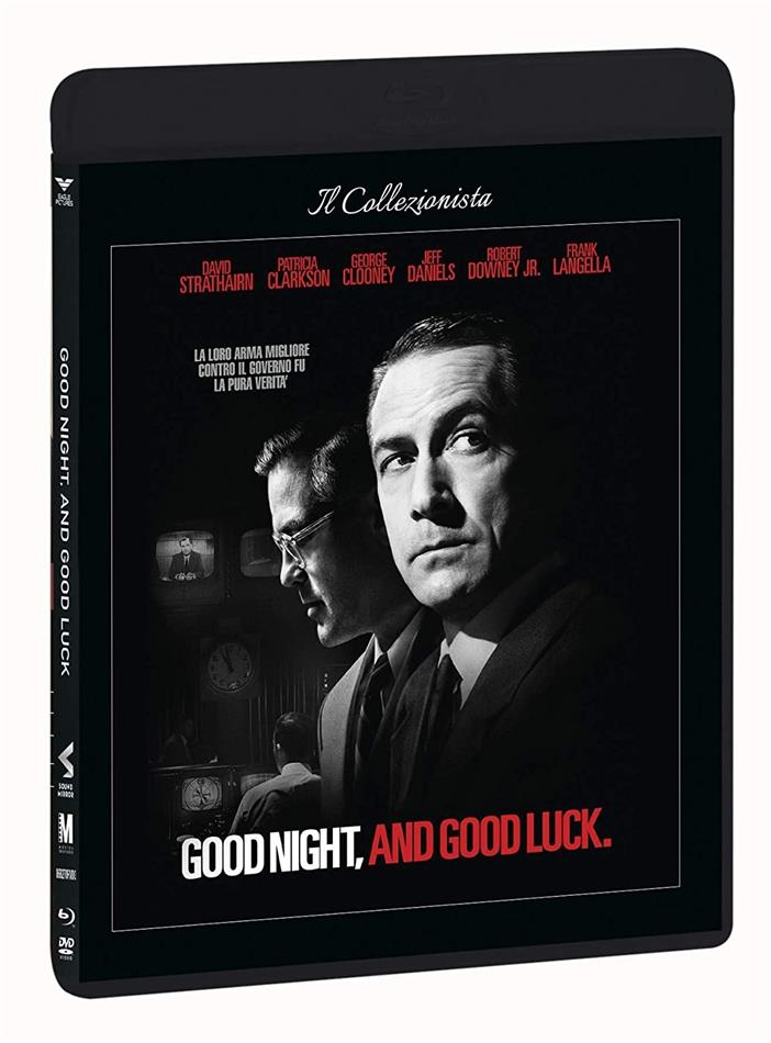 Good night, and good luck (2005) (Il Collezionista, n/b, Blu-ray + DVD)