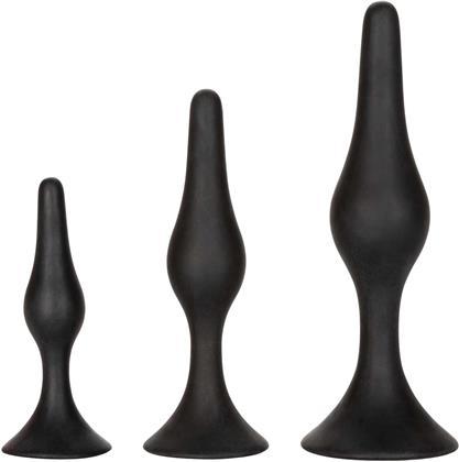Silicone Anal Starter Kit - black