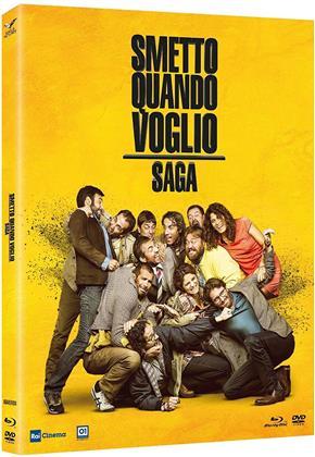 Smetto quando voglio - Saga (4 Blu-rays)