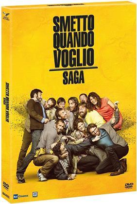 Smetto quando voglio - Saga (4 DVDs)