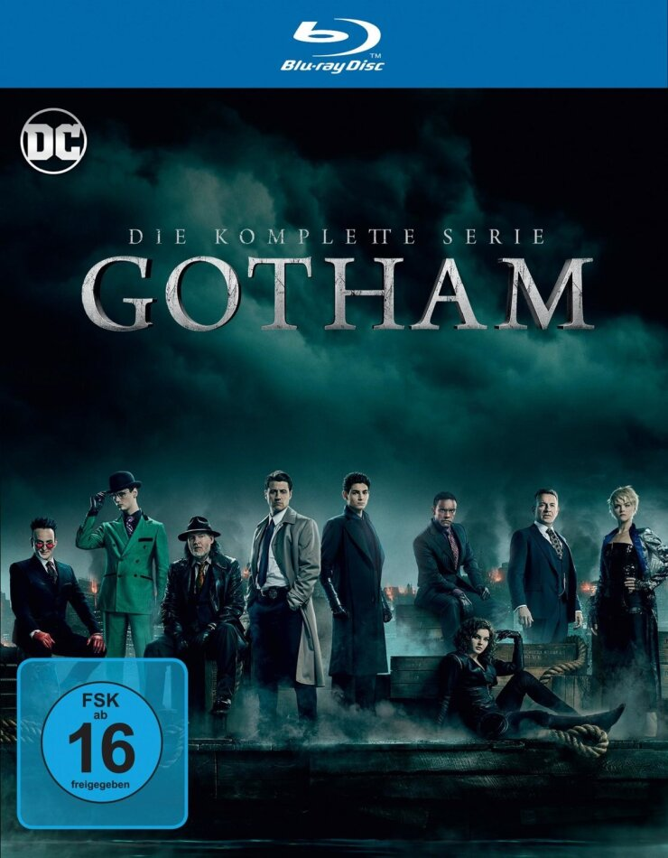 Gotham - Die komplette Serie (18 Blu-rays)