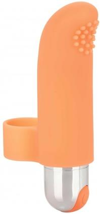 Rechargeable Finger Tickler - orange