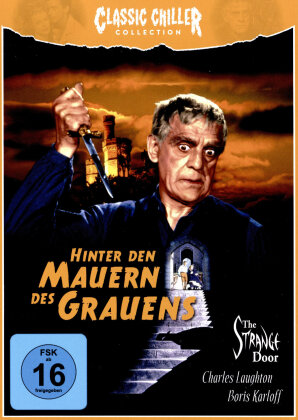 Hinter den Mauern des Grauens (1951) (Classic Chiller Collection, s/w, Limited Edition, Blu-ray + Hörbuch)