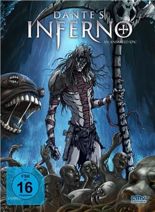 Dante's Inferno (2010) (Cover C, Limited Edition, Mediabook, Blu-ray + DVD)